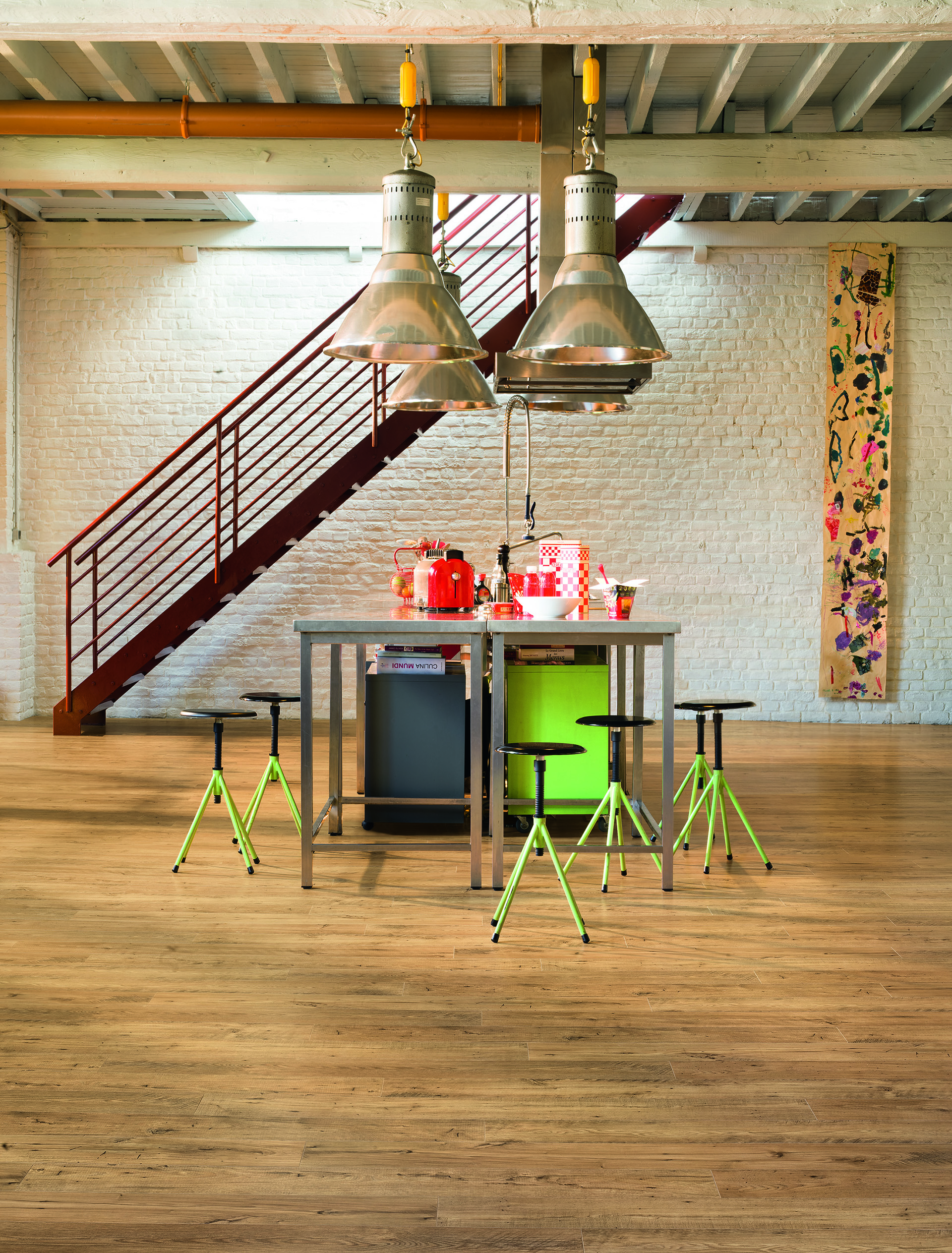 Quick Step: Eligna wide, Reclaimed Chestnut Natural